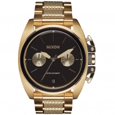Часы NIXON ANTHEM CHRONO Gold/Black