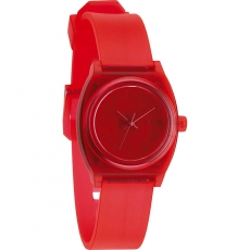 Часы NIXON Small Time Teller P Translucent Coral