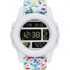 Часы NIXON Unit WHITE MULTI SPECKLE