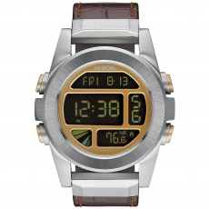 Часы  NIXON UNIT SS LEATHER