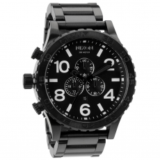 Часы NIXON 51-30 Chrono ALL BLACK