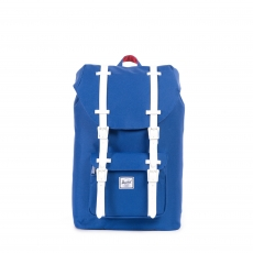 ������ Herschel Little America Mid-Volume Deep Ultramarine/Red/White Rubber