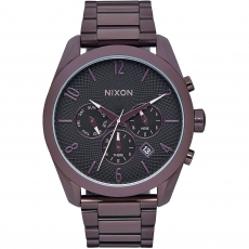 Часы NIXON BULLET CHRONO ALL PLUM/BLACK