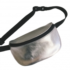 Поясная сумка Gruzovik Waistbag Leather Silver