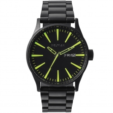 Часы NIXON Sentry SS ALL BLACK/LUM