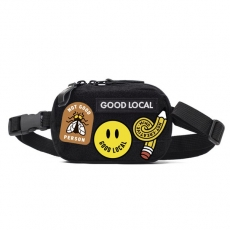 Поясная сумка GOOD LOCAL Waistbag Patched Black