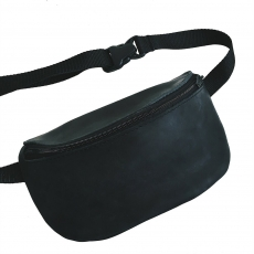Кожаная поясная сумка Nikita Gruzovik Waistbag Dark Grey