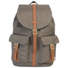 Рюкзак HERSCHEL DAWSON Canteen Crosshatch / Tan Synthetic Leather