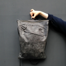Рюкзак LOVECORPORATION Animal Three Grey