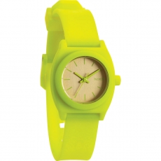 Часы NIXON Small Time Teller P NEON YELLOW / BEETLEPOINT