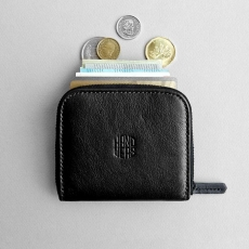 Кожаный кошелек HANDWERS Wallet x CLIFF Black