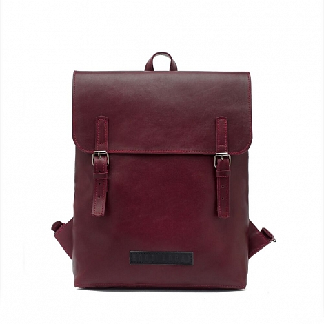 Рюкзак кожаный GOOD LOCAL Slim Leather Bordo