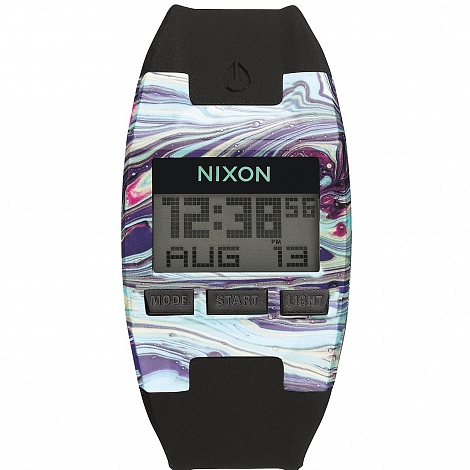 Часы NIXON COMP S MARBLED MULTI / BLACK