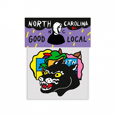 Набор патчей GOOD LOCAL x NORTH CAROLINA