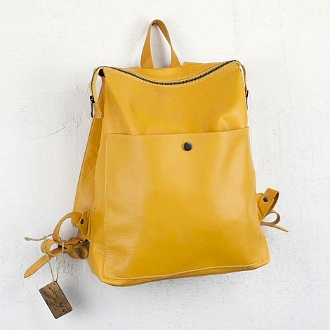 Рюкзак Virronen Zipper Yellow