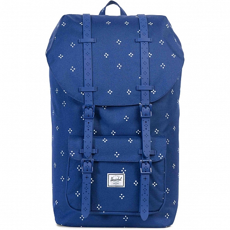 Рюкзак HERSCHEL LITTLE AMERICA Focus/Twilight Blue Rubber