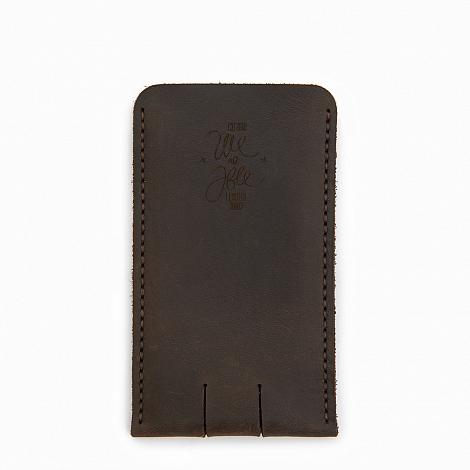 Чехол We Are Able iPhone Case Dark Brown