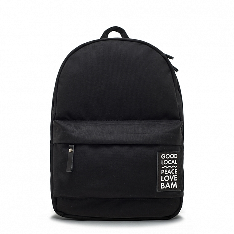 Рюкзак GOOD LOCAL x BAM Daypack Classic M Black / Space Black