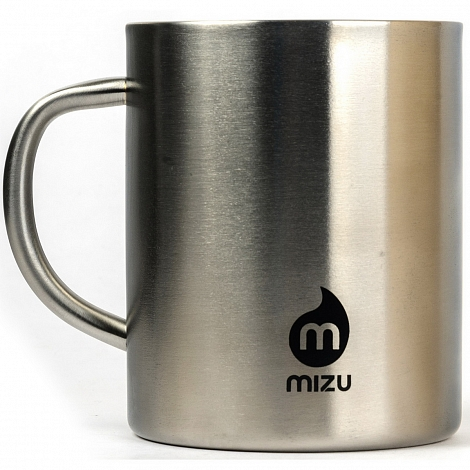 Термокружка MIZU CAMP CUP A/S Stainless w Black Print