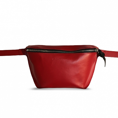 Сумка на пояс LOVECORPORATION Bag On Belt Red