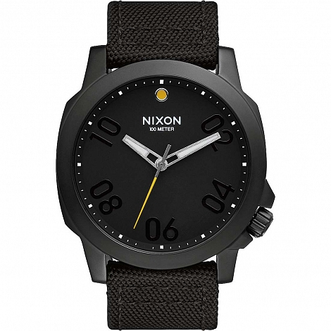 Часы NIXON RANGER 45 NYLON ALL BLACK