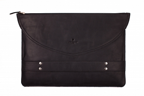 Чехол-папка Stoneguard - Leather case 13'' Black