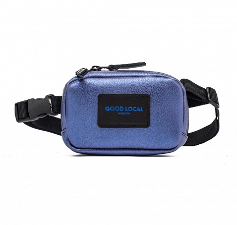 Поясная сумка GOOD LOCAL Waistbag Eco LUX Blue Gold